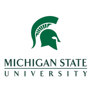 michigan state intern for michigan hr day 2016 helmet logo image